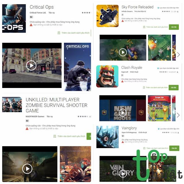 Top 5 Game miễn phí cực hấp dẫn cho điện thoại Android