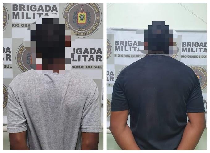 Brigada Militar realiza uma prisão e recaptura um foragido no bairro Vista Alegre em Cachoeirinha
