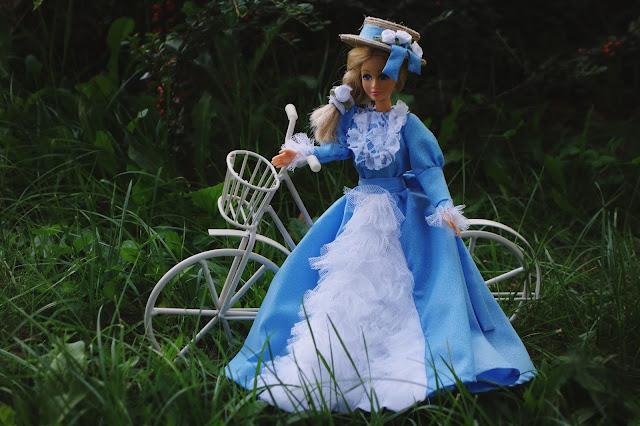 jak uszyć suknię dla Barbie