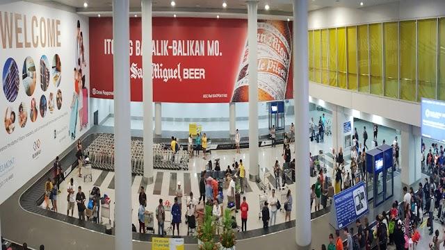NAIA Terminal 3 Arrival