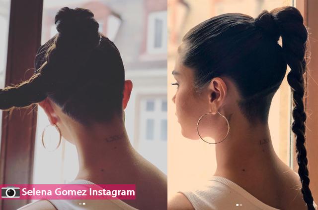 سيلينا غوميز حلقت شعر رأسها من جديد