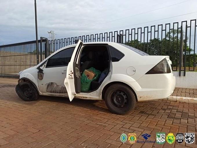 Veículo carregado com cigarros contrabandeados é apreendido pela BPFron