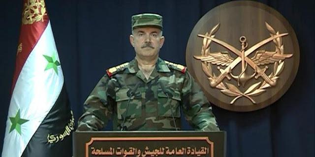 الجيش السوري يطوي صفحة الإرهاب ويعلن دمشق وريفها آمنة (فيديو)