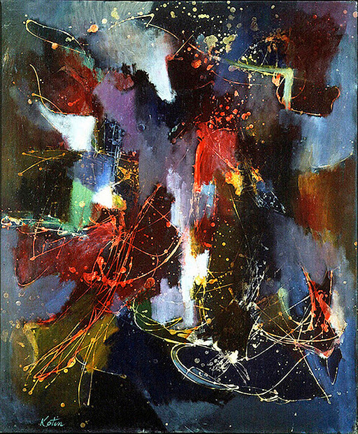 York Art Collector - Discovering Excellence Albert Kotin Early School Abstract