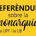 Resultados del referéndum en la Universitat de Barcelona y Universitat Pompeu Fabra sobre el modelo de Estado