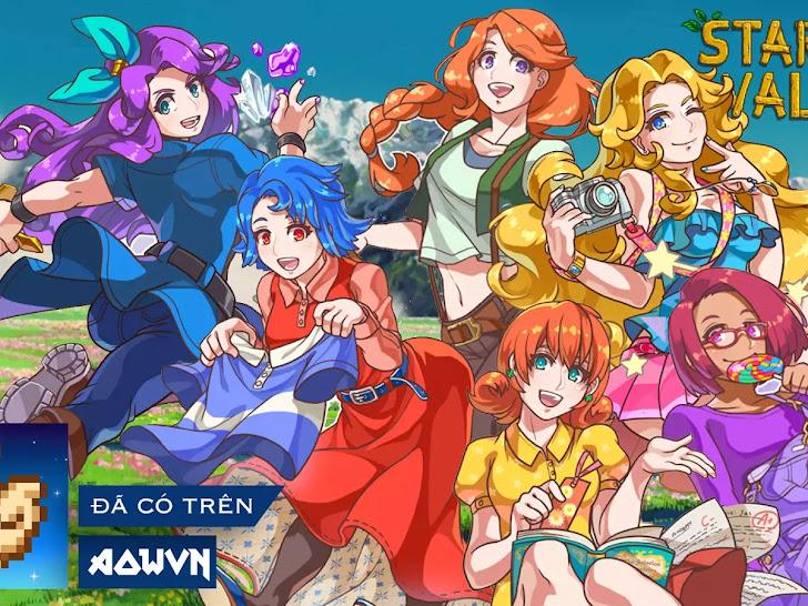 [SV31] Game Stardew Valley Việt Hóa Full + Mod Anime | Android APK - tuyệt phẩm game nông trại