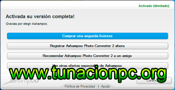Ashampoo Photo Converter con Activador y portable
