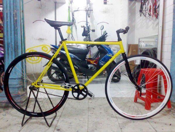 Kumpulan Gambar Modifikasi Sepeda Fixie