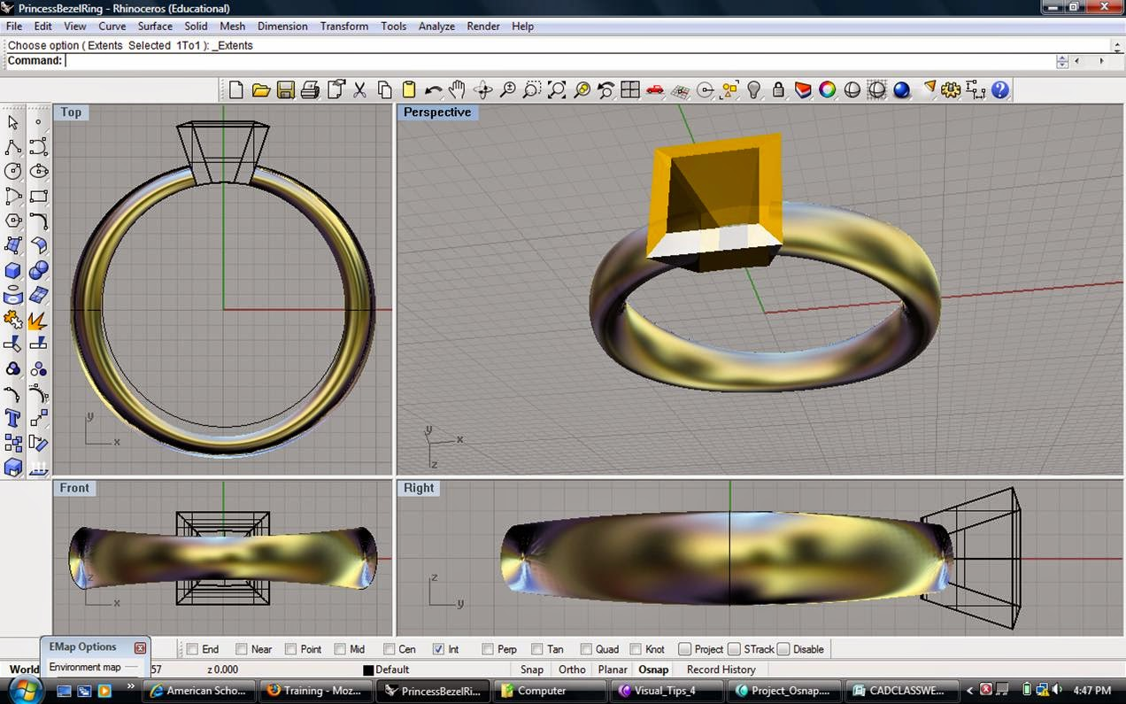 LEARN 3D CAD JEWELRY DESIGN SOFTWARE TRAINING | Chennai