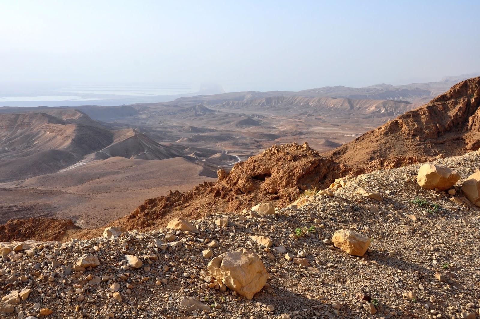 Izrael - Morze Martwe i Park Narodowy Enot Tsukim/Ein Feshkha.