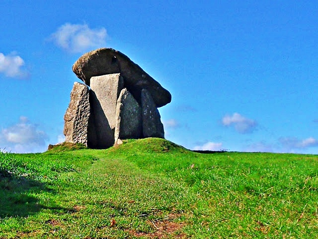 Trevethy Quoit over 5000 years old