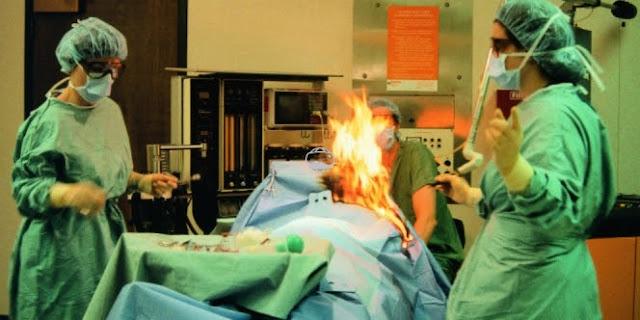 Geger! Ruang Operasi Kebakaran Gara-gara si Pasien Wanita Kentut
