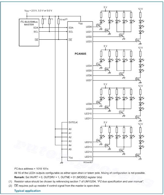 Pca9685 Schematic