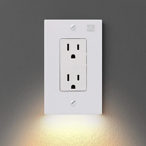 Wall Plate With LED Night Lights- Aliexpress Best Find