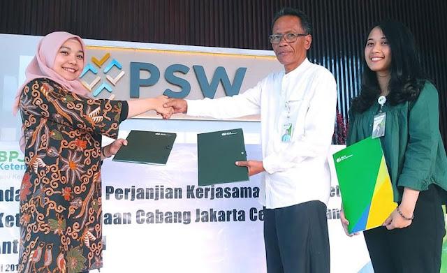 BPJS Ketenagakerjaan Hadirkan Kerjasama Dengan PSW Antasari Hotel