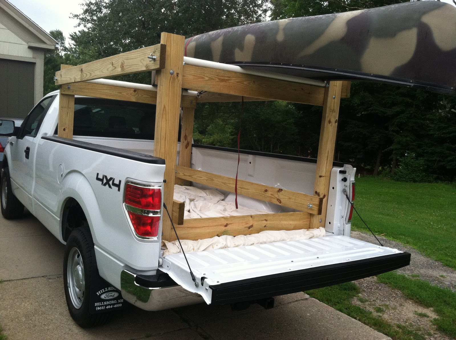 Howdy Ya Dewit!: Easy Homemade Canoe, Kayak, Ladder and ...