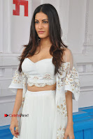 Telugu Actress Amyra Dastur Stills in White Skirt and Blouse at Anandi Indira Production LLP Production no 1 Opening  0020.JPG