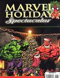 Marvel Holiday Spectacular Magazine