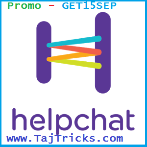 Helpchat September All User Promo Code cashback