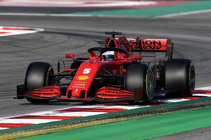 Wyniki 3 dnia testów F1 2020