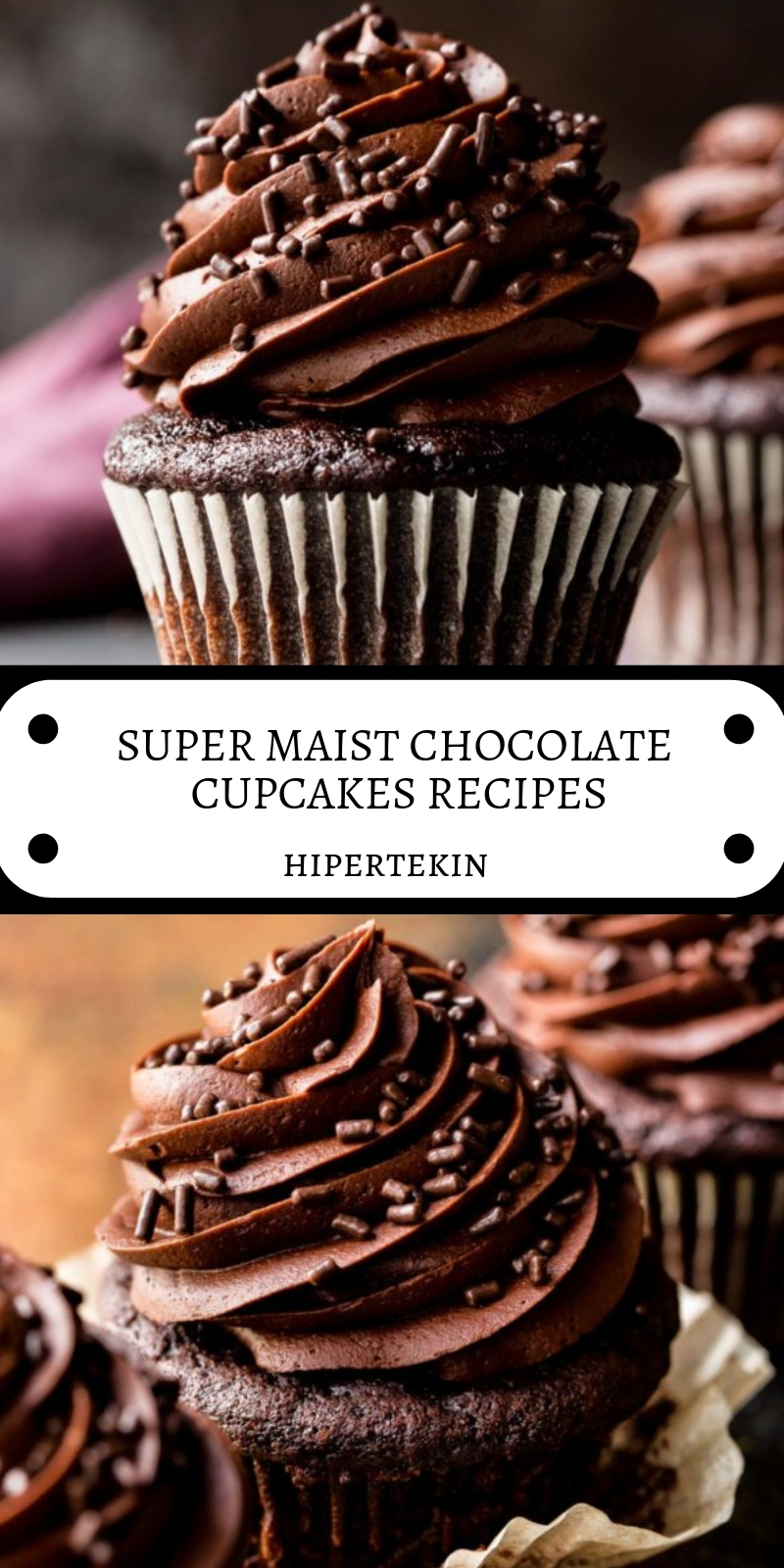 SUPER MAIST CHOCOLATE CUPCAKES RECIPES