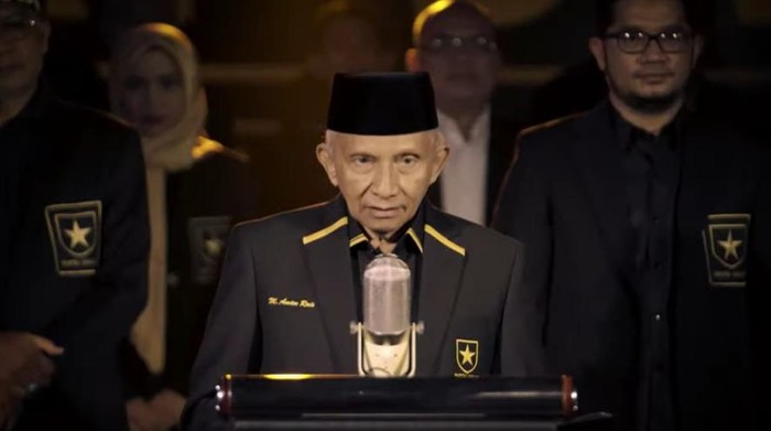 Amien Rais RESMI Deklarasikan Partai Ummat!