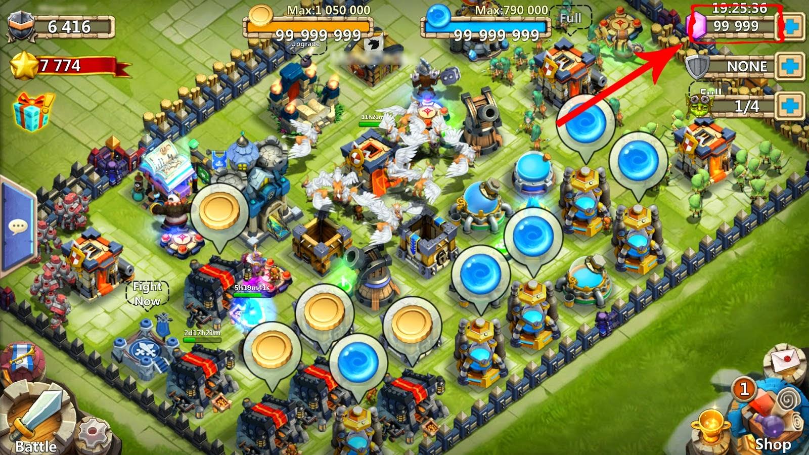 Castle Clash Builder