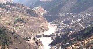 glacier burst at chamoli in uttarakhand