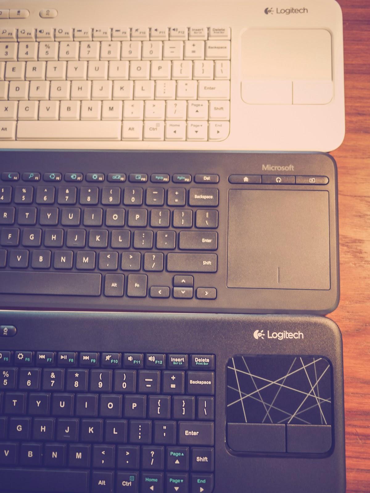Fortysomething Geek: Microsoft All-in-One Media Keyboard vs
