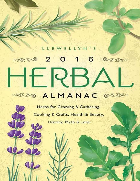 Llewellyn's 2016 Herbal Almanac