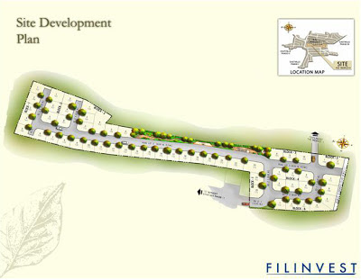 The Tropics Cainta Site Development Map