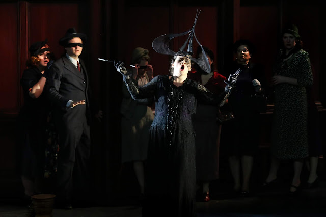 Verdi: Un ballo in maschera - Georgia Mae Bishop - Opera Holland Park young artists performance 2019 (Photo Frances Marshall / Marshall Light Studio)*