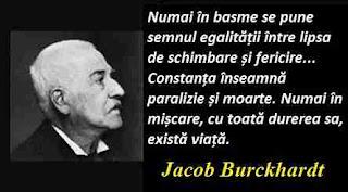 Maxima zilei: 25 mai - Jacob Burckhardt