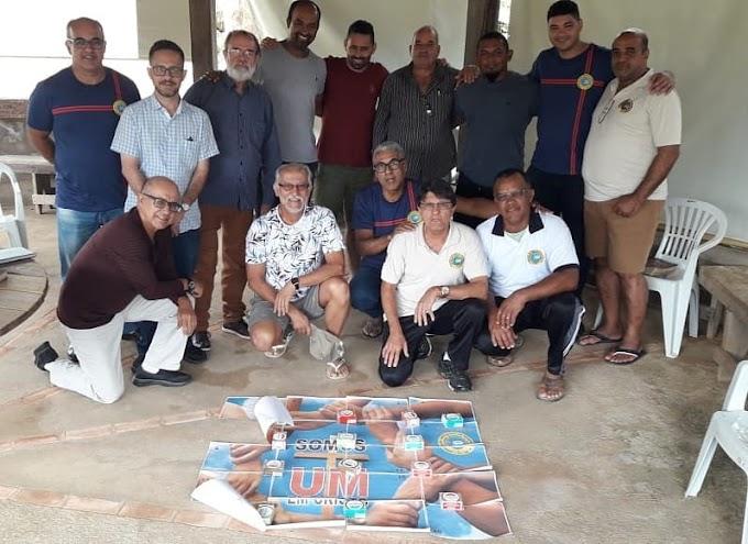 Diretores da Federação se reúnem em Ouro Branco para ações do ano