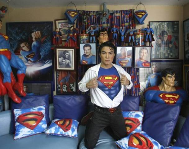 Herbert Chavez Superman fan plastic surgery thai ladyboy
