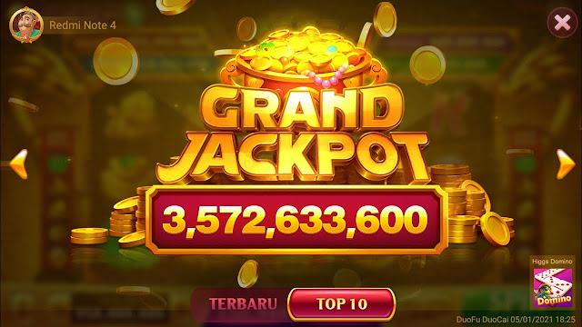 Cara Mendapatkan Grand Jackpot di Higgs Domino