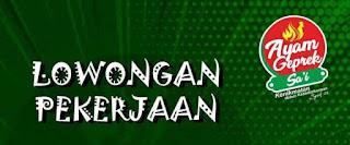 Loker Kasir Ayam Geprek Sa'i Rembang