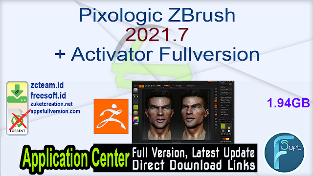 Pixologic ZBrush 2021.7 + Activator Fullversion