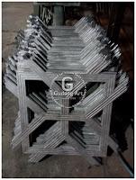 pembuatan ornamen cor logam aluminium