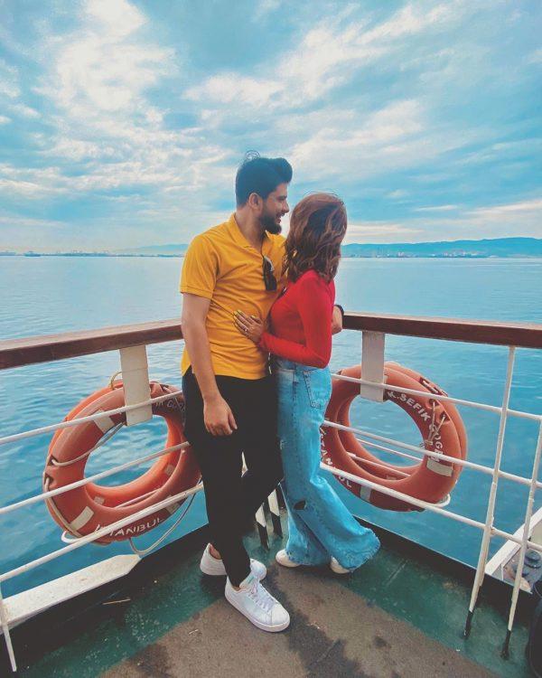 Model Waliya Najib Honeymoon in Turkey