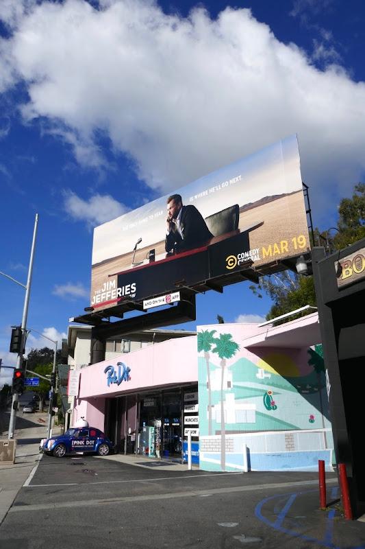 Jim Jefferies Show season 3 billboard