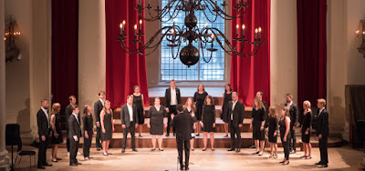 Ole Bull Kammerkor, second prize winners of the 2017 London International A Cappella Choral Competition