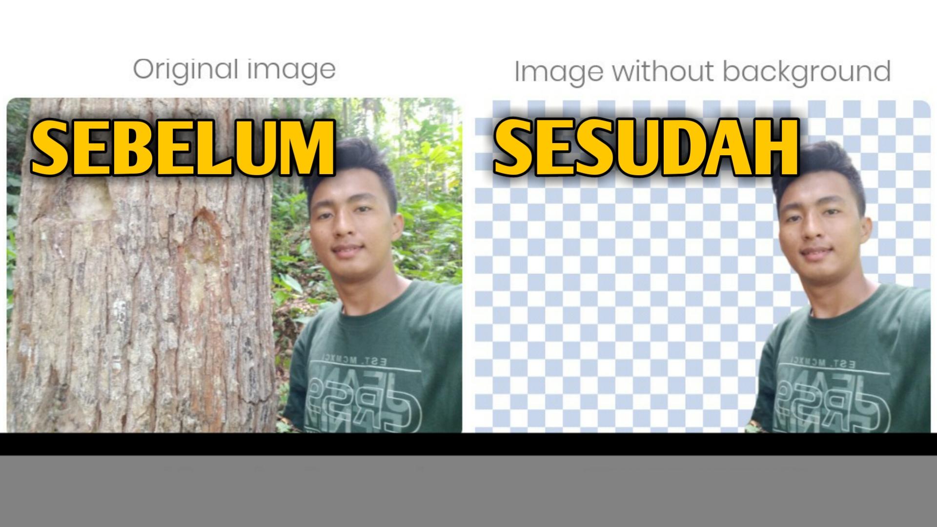 cara menghapus background foto tanpa aplikasi