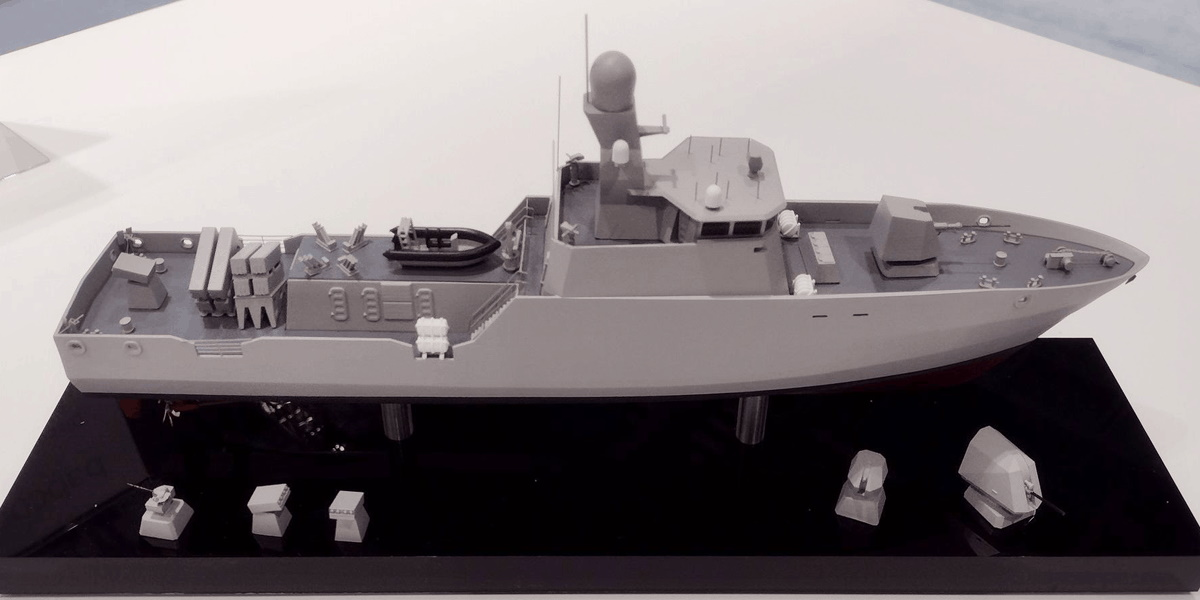 The model of the fast missile boat will be built by British companies for Ukraine