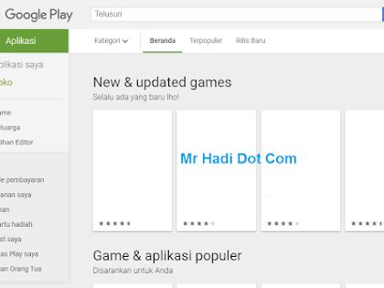 85 Aplikasi di Playstore di Hapus Google
