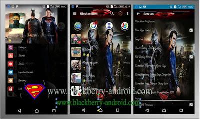 BBM MOD Batman VS Superman Themes New V.2.12.0.11 APK