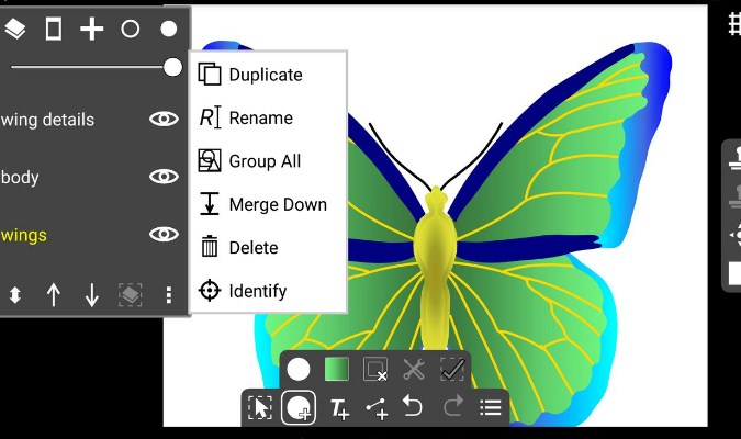 Aplikasi Vektor - Ivy Draw