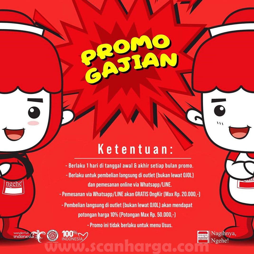 Promo Makaroni Ngehe MAHE Payday Periode Februari 2020
