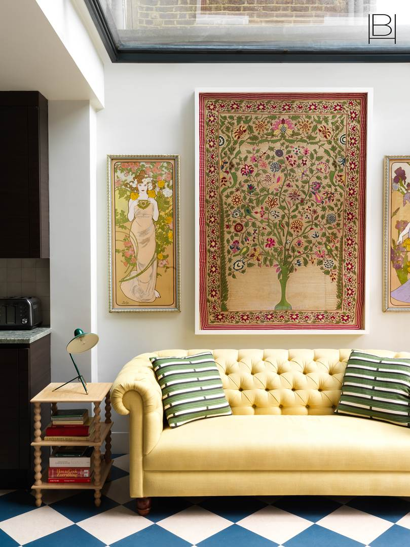 Décor Inspiration: A Charmingly Colourful Townhouse in Notting Hill