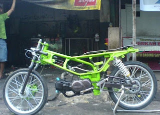 Modifikasi motor bebek honda Grand
